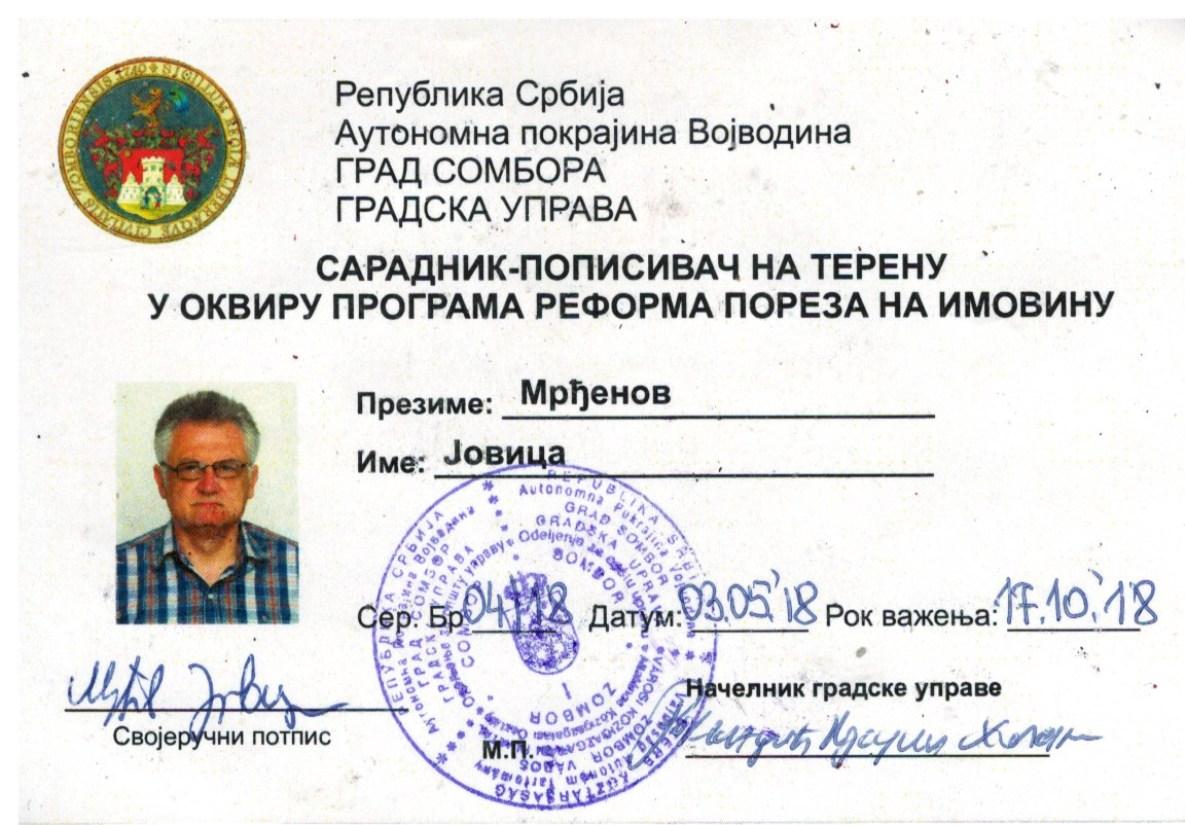 6. Jovica Mrđenov